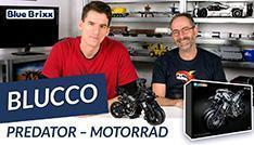 Youtube: Motorrad Predator von Blucco @ BlueBrixx - der Held der Steine baut Technic!