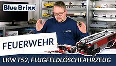Youtube: Feuerwehrfahrzeug T52 FLF von BlueBrixx