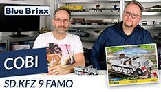 Youtube: Sd.Kfz 9 Famo von Cobi @ BlueBrixx