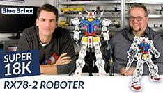 Youtube: RX78-2 Roboter von Super 18 K @ BlueBrixx - gebaut mit dem Helden der Steine!