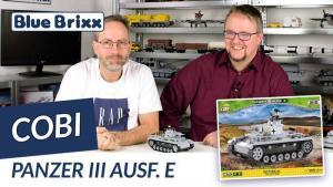 YouTube: Panzer III Ausführung E von Cobi @ BlueBrixx