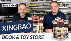 YouTube: Book & Toy Store von Xingbao @ BlueBrixx – ein Modular der Superlative!