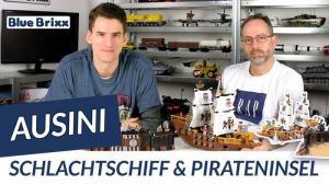 YouTube: Schlachtschiff von Ausini @ BlueBrixx - Leinen los mit dem Helden der Steine!