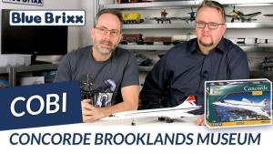 YouTube: Concorde in der Brooklands-Museum-Edition von Cobi @ BlueBrixx
