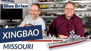 YouTube: Schlachtschiff Missouri von Xingbao @ BlueBrixx - inkl. Vergleich mit dem Cobi-Modell!