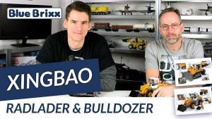 YouTube: Bulldozer und Radlader von Xingbao @ BlueBrixx – gebaut mit dem Helden der Steine!