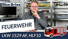 Youtube: Feuerwehrfahrzeug HLF 10 von BlueBrixx