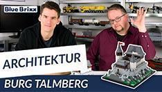 Burg Talmberg von BlueBrixx - gebaut vom Helden der Steine!