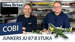 YouTube: Junkers Ju 87B Stuka von Cobi @ BlueBrixx