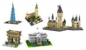 Wieder eingetroffen: Architektur Diamond Block Sets der Marke YZ-Diamond sind wieder da