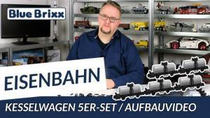 YouTube: Kesselwagen 5er Set von BlueBrixx