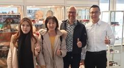 Wir hatten Besuch: Xingbao war bei uns in Flörsheim!