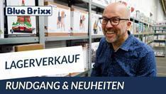 Youtube: Lagerverkauf bei BlueBrixx - Rundgang & Neuheiten