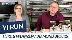 YouTube: Tiere und Pflanzen aus Diamond Blocks @ BlueBrixx