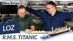Youtube: RMS Titanic aus Diamond Blocks von LOZ @ BlueBrixx