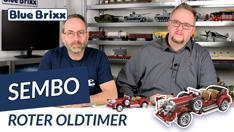 Youtube: Roter Oldtimer von Sembo @ BlueBrixx