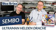 Youtube: Ultraman Helden Drache von Sembo @ BlueBrixx