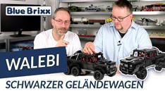 YouTube: Schwarzer Geländewagen von WaLeBi @ BlueBrixx