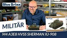 Youtube: M4 A3E8 HVSS Sherman von BlueBrixx Pro @ BlueBrixx