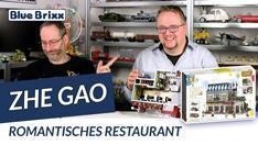Youtube: Romantisches Restaurant von Zhe Gao @ BlueBrixx