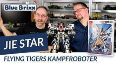 Youtube: Flying Tigers Kampfroboter von Jie Star @ BlueBrixx