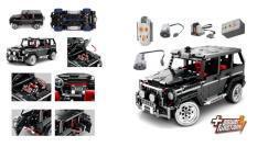 Jetzt auch mit Elektronik: der Sembo Technik Geländewagen