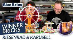 YouTube: Riesenrad und Karussell von Winner Bricks @ BlueBrixx - mit dem Helden der Steine!