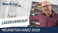 Youtube: Die März-Neuheiten 2020 im Lagerverkauf @ BlueBrixx - ein Rundgang mit Klaus!