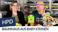 Youtube: Kids - Baumhaus von HPD @ BlueBrixx - Bauspaß im Großformat für kleine Kinder!
