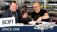 Youtube: Space One von BlueBrixx - unser neues Science-Fiction-Modell hebt ab!