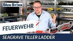 Youtube: Seagrave Tiller Ladder rot/schwarz von BlueBrixx
