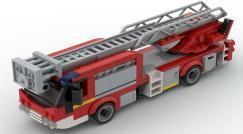 Neue Ankündigung: 102715 Niederflur Feuerwehr Leiterwagen