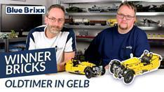 Youtube: Oldtimer in gelb von Winner Bricks @ BlueBrixx