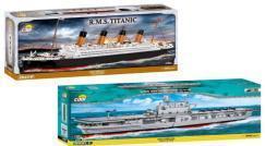 USS Enterprise CV-6 und R.M.S. Titanic von Cobi eingetroffen!