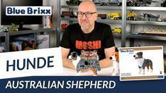 Youtube: Australian Shepherd, Hund aus Diamond Blocks - BlueBrixx Pro @ BlueBrixx