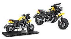 Bald erhältlich:  Motorrad mit Halterung