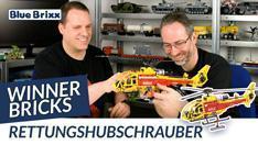 Youtube: Rettungshubschrauber von Winner Bricks @ BlueBrixx