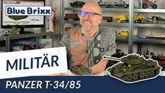 Youtube: Panzer T-34/85 von BlueBrixx Pro @ BlueBrixx