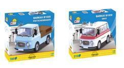 Bald erhältlich:  zwei Barkas Modelle von Cobi