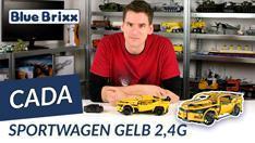 Youtube: Ferngesteuerter Technic-Sportwagen von CaDA @ BlueBrixx - gebaut vom Helden der Steine!