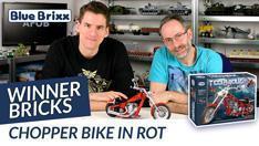 Youtube: Chopper Bike von Winner Bricks @ BlueBrixx - gebaut vom Helden der Steine!