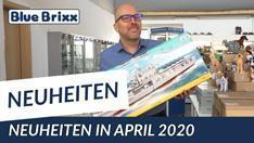 Youtube: Die April-Neuheiten 2020 bei BlueBrixx - ein Rundgang mit Klaus!