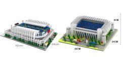 Bald wieder erhältlich:  Fußballstadion Malaga und Bernabeu