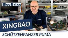 Youtube: Bundeswehr-Schützenpanzer Puma von Xingbao @ BlueBrixx