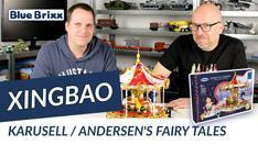 Youtube: Karussell Andersen's Fairy Tales von Xingbao @ BlueBrixx