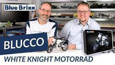 Youtube: White Knight Cross Motorrad von Blucco @ BlueBrixx