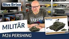 Youtube: US-Panzer M26 Pershing von BlueBrixx Pro @ BlueBrixx