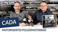 Youtube: Motorisiertes Polizeimotorrad von CaDA @ BlueBrixx