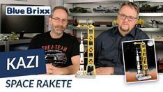 YouTube: Space Rakete von Kazi @ BlueBrixx