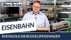 Youtube: Rheingold DB Buckelspeisewagen von BlueBrixx